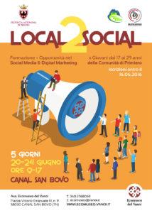Locandina local2social